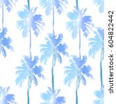tropical background seamless... | Shutterstock .eps vector #604822442