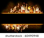 message fire banner   highly... | Shutterstock . vector #60490948