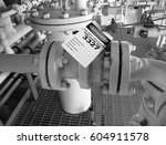gas process valve isolation... | Shutterstock . vector #604911578