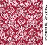 floral pattern. wallpaper...   Shutterstock .eps vector #604919522