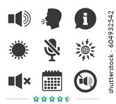 player control icons. sound ...   Shutterstock .eps vector #604932542