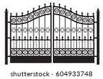 Vector Forged Gates.decorative...