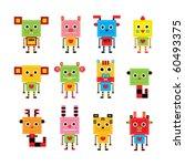 Cute Animal Horoscope Robot...