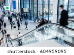 international trade show | Shutterstock . vector #604959095
