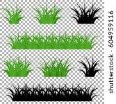 grass vector | Shutterstock .eps vector #604959116