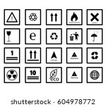 set of vector line icon black...