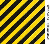 warning striped rectangular... | Shutterstock .eps vector #604979636