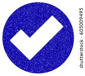 grunge apply rubber seal stamp...