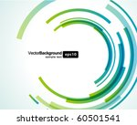 abstract technology circles... | Shutterstock .eps vector #60501541