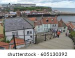 View Of Whitby Harbour From Th...