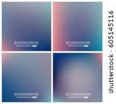 abstract creative concept... | Shutterstock .eps vector #605145116