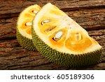 Healthy Jack Fruit Slices On A...