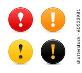 warning attention sign with... | Shutterstock .eps vector #60523981