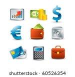 finance icon set | Shutterstock .eps vector #60526354