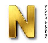 3d rendering of the letter n in ...   Shutterstock . vector #60526675