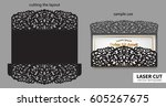 digital vector file for laser... | Shutterstock .eps vector #605267675