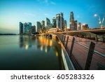 Singapore Skyline At Night....