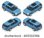 off road  car. modern vip... | Shutterstock . vector #605332586