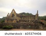 Small photo of Tintern abby, Tintern, Chepstow, UK, August 11 2016, Shot from public land, Tintern abby was disolved during the abolishment of the catholic church in england during the rule of King Henry the 8th