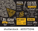 Pizza Food Menu For Restaurant...