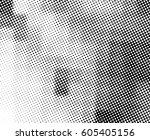 black and white halftone... | Shutterstock . vector #605405156