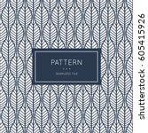 geometric seamless pattern.... | Shutterstock .eps vector #605415926
