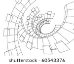 geometric design   Shutterstock .eps vector #60543376
