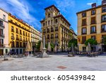 View Of Old Square In Madrid ...