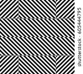 vector seamless pattern.... | Shutterstock .eps vector #605444795