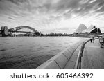 View Of The Sydney Harbor And...