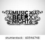 music  beer  night and rock...