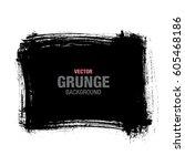 vector grunge background | Shutterstock .eps vector #605468186