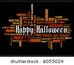 happy halloween and other scary ... | Shutterstock .eps vector #6055024