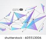 network concept design...   Shutterstock .eps vector #605513006
