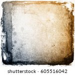 grunge abstract background with ... | Shutterstock . vector #605516042