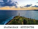 lighthouse santo domingo | Shutterstock . vector #605534786