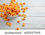 Colorful Halloween Candy Corns...