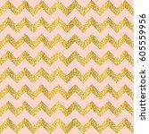vector gold glittering confetti ... | Shutterstock .eps vector #605559956