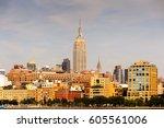 new york  usa   sep 25  2015 ... | Shutterstock . vector #605561006