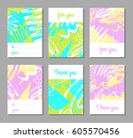 collection of creative... | Shutterstock .eps vector #605570456
