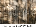 close up of wood paneling... | Shutterstock . vector #605594636