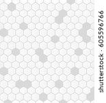 seamless  illustrated tile of... | Shutterstock .eps vector #605596766