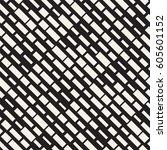 vector seamless black and white ... | Shutterstock .eps vector #605601152