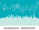vector illustration of a... | Shutterstock .eps vector #605615252