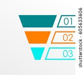 funnel symbol. marketing and... | Shutterstock .eps vector #605633606