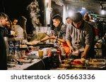 moscow  russia   september 10 ...   Shutterstock . vector #605663336
