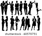 business people | Shutterstock .eps vector #60570751