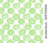 beautiful seamless pattern of... | Shutterstock .eps vector #605750396