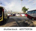 johor bahru malaysia  ... | Shutterstock . vector #605750936