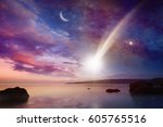 amazing tranquil background  ... | Shutterstock . vector #605765516